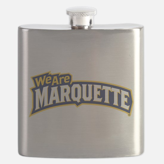 We Are Marquette Flask