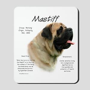 Mastiff (fawn) Mousepad