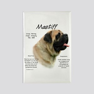 Mastiff (fawn) Rectangle Magnet