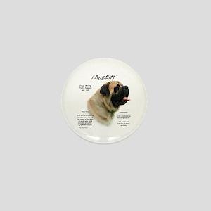 Mastiff (fawn) Mini Button