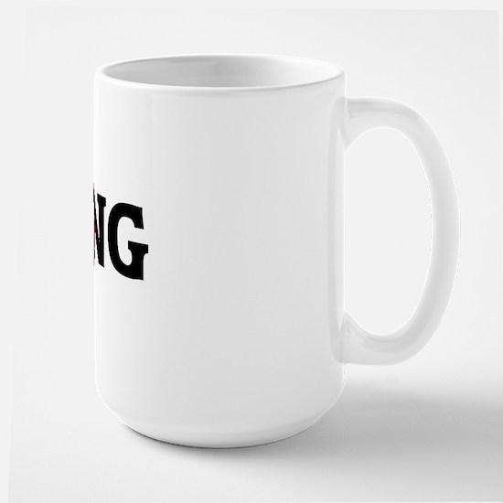 Anti COOKING Large Mug