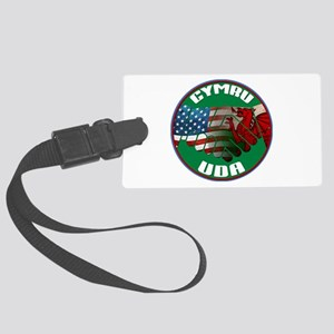 Wales USA Friendship (in Welsh) Large Luggage Tag