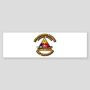 Army - DS - 2nd AR Div Sticker (Bumper)