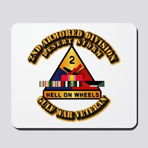 Army - DS - 2nd AR Div Mousepad