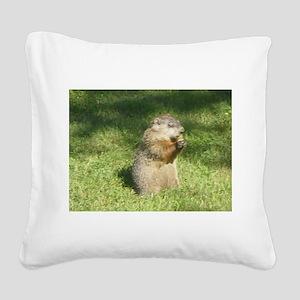 Moochie! Square Canvas Pillow