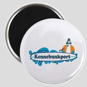 Kennebunkport ME - Surf Design. Magnet