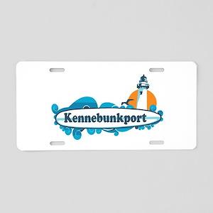 Kennebunkport ME - Surf Design. Aluminum License P