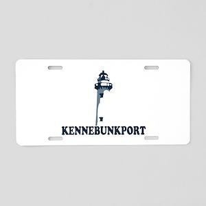 Kennebunkport ME - Lighthouse Design. Aluminum Lic