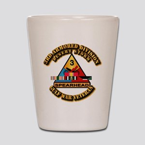 Army - DS - 3rd AR Div Shot Glass