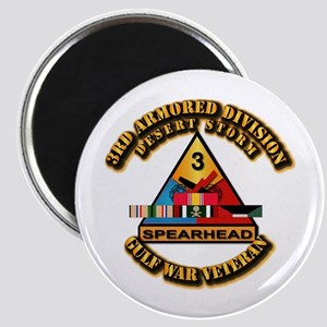 Army - DS - 3rd AR Div Magnet