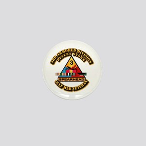 Army - DS - 3rd AR Div Mini Button