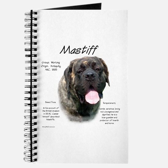 Mastiff (fawn brindle) Journal