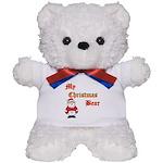 Christmas huggy Teddy Bear