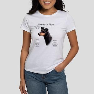 Manchester Terrier Women's Classic White T-Shirt