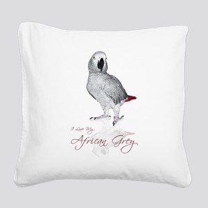 africangreygifts Square Canvas Pillow