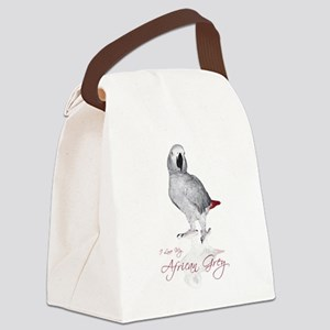 africangreygifts Canvas Lunch Bag