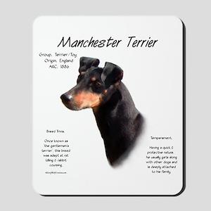 Manchester Terrier Mousepad