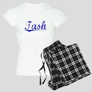 Tash, Blue, Aged Women's Light Pajamas
