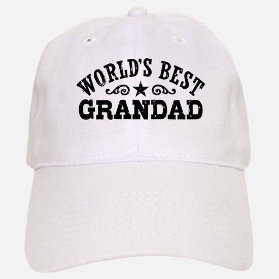 World's Best Grandad Baseball Baseball Cap