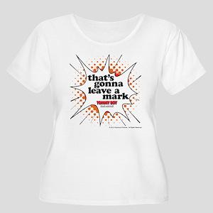 Leave a Mark Women's Plus Size Scoop Neck T-Shirt