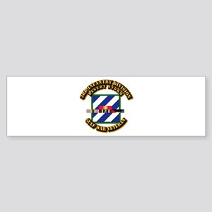 Army - DS - 3rd INF Div Sticker (Bumper)