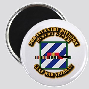 Army - DS - 3rd INF Div Magnet