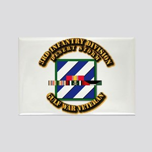 Army - DS - 3rd INF Div Rectangle Magnet