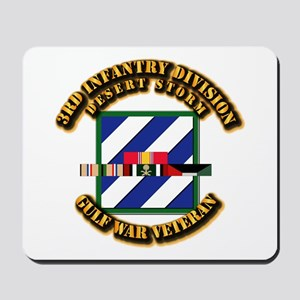 Army - DS - 3rd INF Div Mousepad