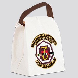 Army - DS - 7th MEDCOM Canvas Lunch Bag
