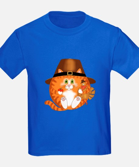 Bauble Cat Thanksgiving T