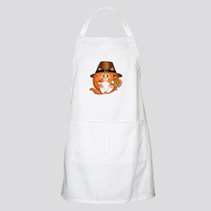 Bauble Cat Thanksgiving Apron