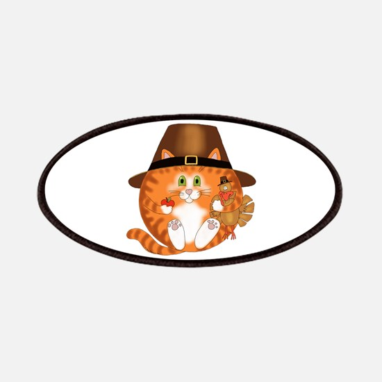 Bauble Cat Thanksgiving Patches