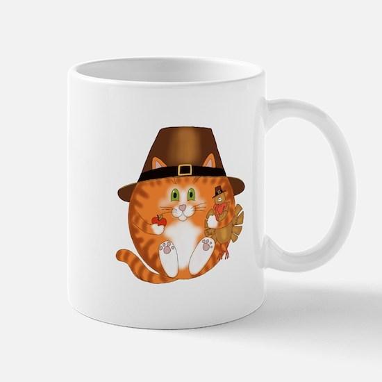 Bauble Cat Thanksgiving Mug