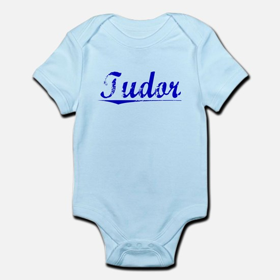 Tudor, Blue, Aged Infant Bodysuit