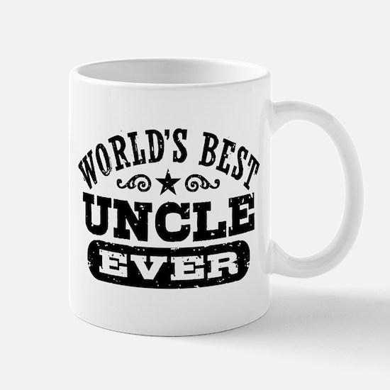 World's Best Uncle Ever Mug