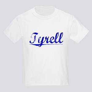 Tyrell, Blue, Aged Kids Light T-Shirt