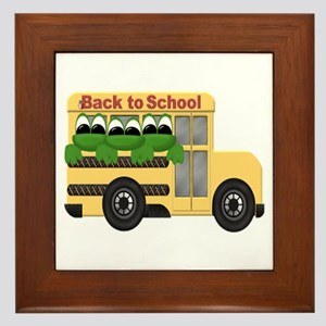 BACK TO SCHOOL Framed Tile