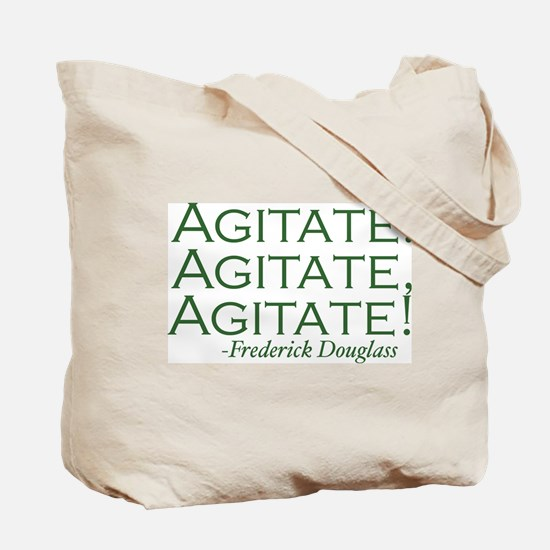 "Frederick Douglass ""Agitate!"" Tote Bag"