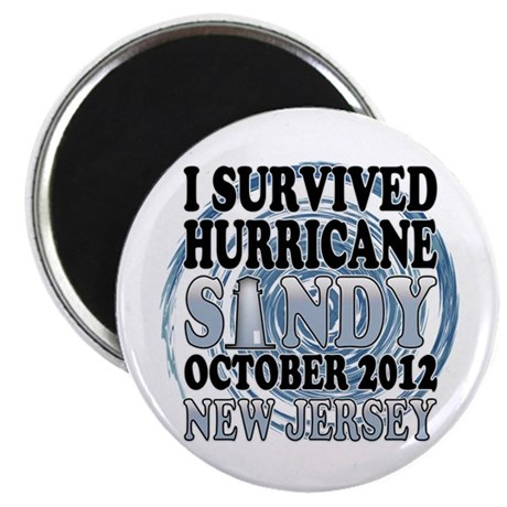 Hurricane Sandy New Jersey Magnet