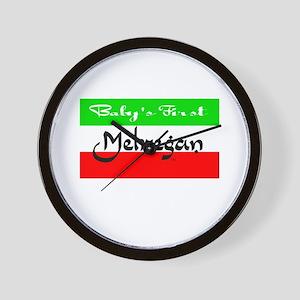 Baby's 1st Mehregan Wall Clock