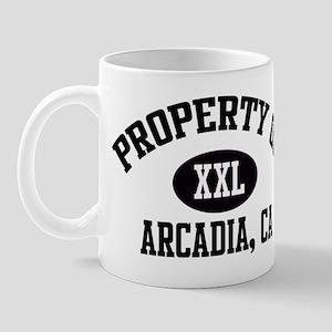 Property of ARCADIA Mug