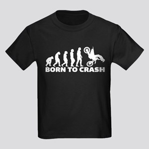 Born To Crash Motocross Dirt Bike T-Shirt