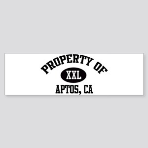 Property of APTOS Bumper Sticker