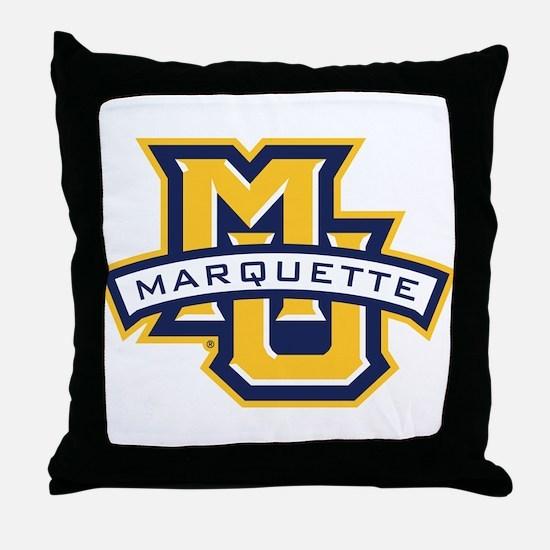 Marquette MU Throw Pillow