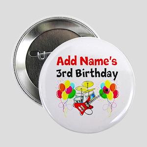 "HAPPY 3RD BIRTHDAY 2.25"" Button"