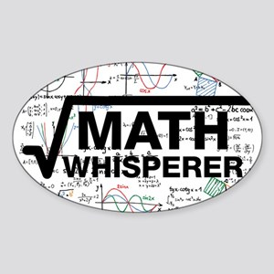 Math Whisperer Sticker