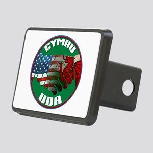 Wales USA Friendship (in Welsh) Rectangular Hitch