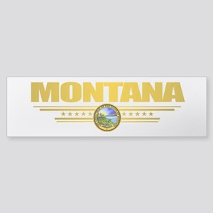 Montana Seal (back) Sticker (Bumper)