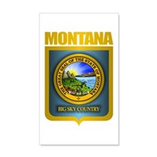Montana Seal (back) Wall Decal