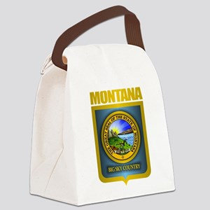Montana Seal (back) Canvas Lunch Bag